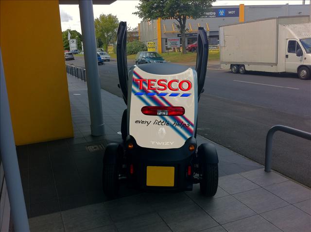 Branded Vehicle