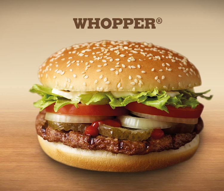 Swap Unwanted Presents for a Whopper Burger at Burger King- Brand