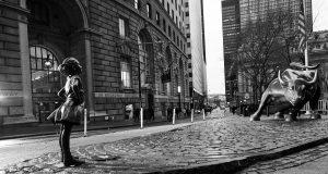 Wall Street Bull Guerrilla Marketing Stunt