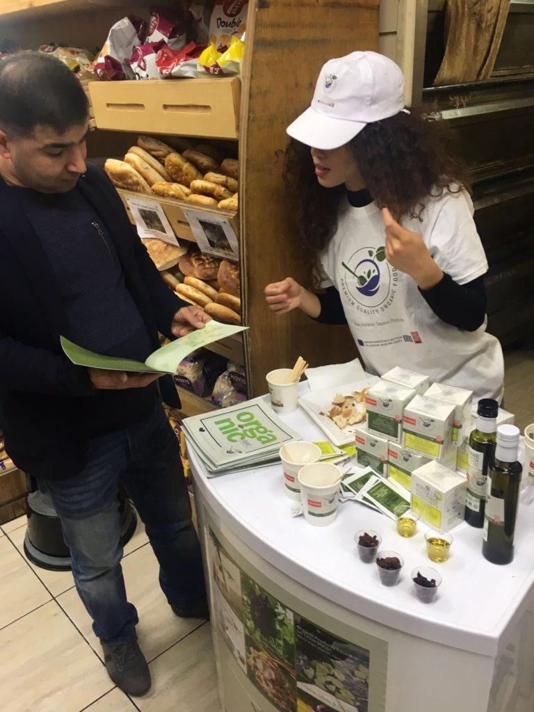 Supermarket Product Sampling Staff