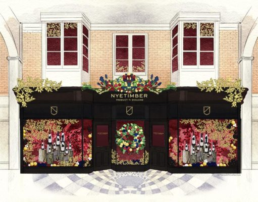 Meredith Collective brings luxury to life for Nyetimber with indulgent Christmas pop-up