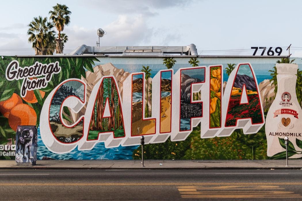 Colorful billboard.